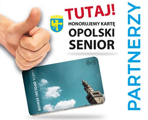 "Partnerzy Karty ,,Opolski Senior"""